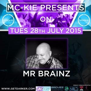 MC Kie Presents July 15 Brainz